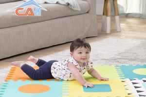 Cách làm sạch thảm xốp cực kì đơn giản
