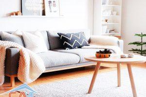 Giặt thảm trải sàn nhà, phòng khách tại nhà