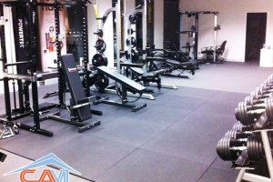 Giặt thảm phòng tập Gym, trung tâm đào tạo 7.000đ/m2