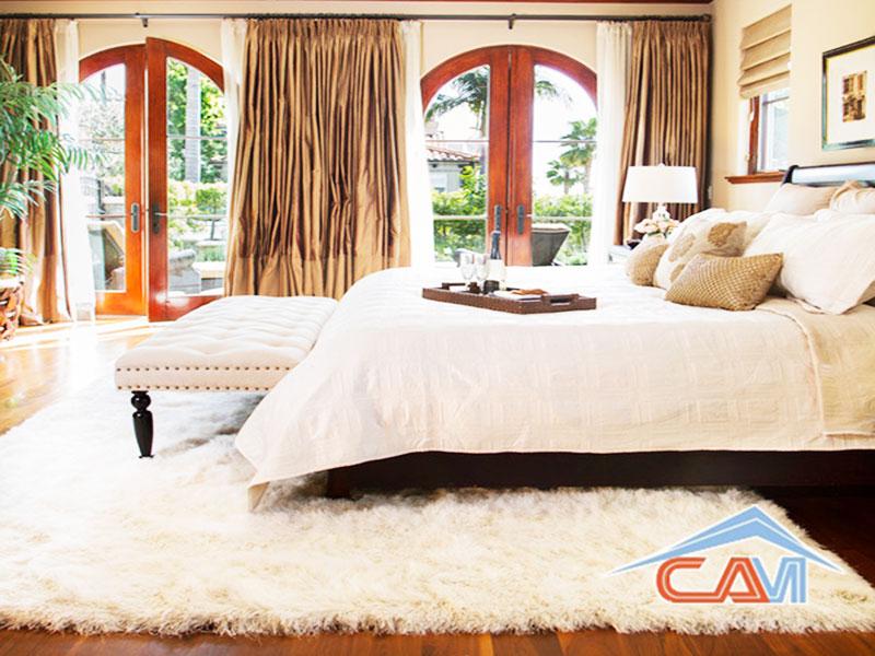 Giặt thảm phòng ngủ tại nhà 7.000đ/m2
