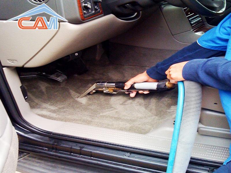 Giặt thảm xe hơi 400.000 đ/xe 4 chỗ