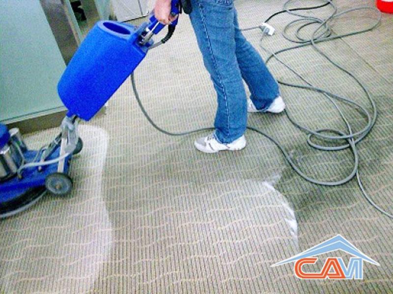 dịch vụ giặt thảm văn phòng sạch của công ty vệ sinh CAM